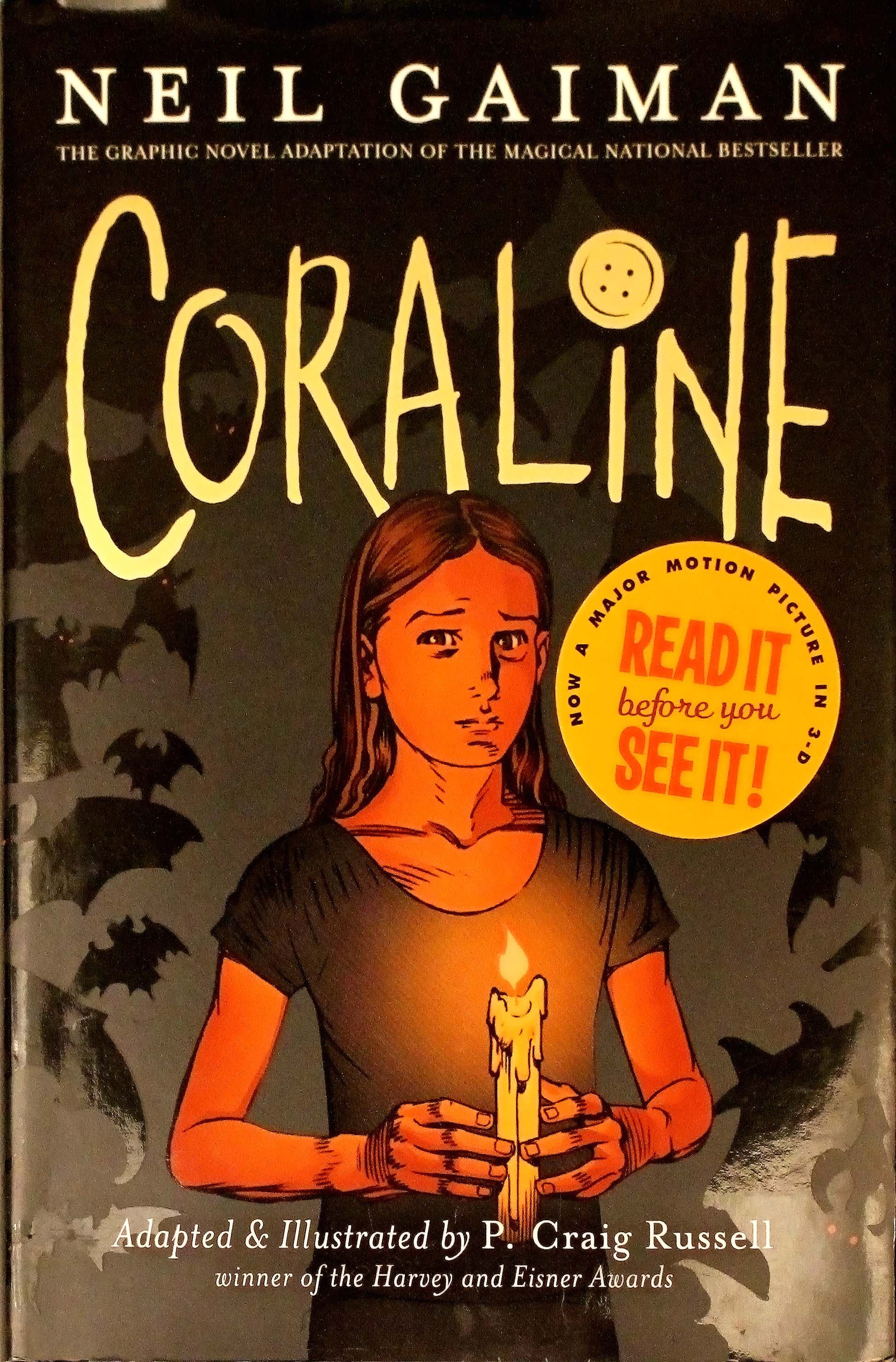 Coraline The Graphic Novel Adaptation By Neil Gaiman Author P Craig Russell Illustrator Considerthelilies Org